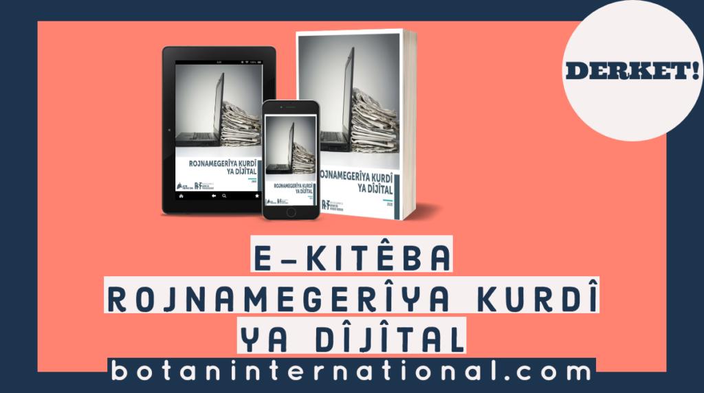 E-kitêba Rojnamegerîya Kurdî ya Dijital derket