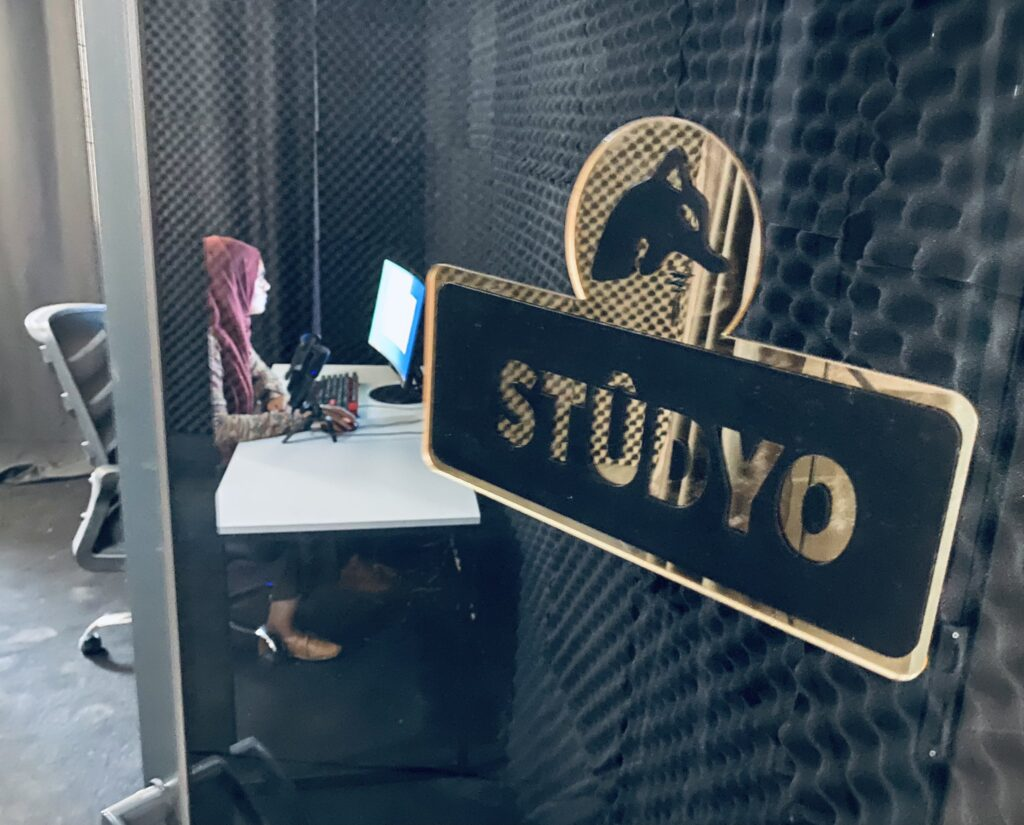Our studio and newsroom are free of charge for journalists