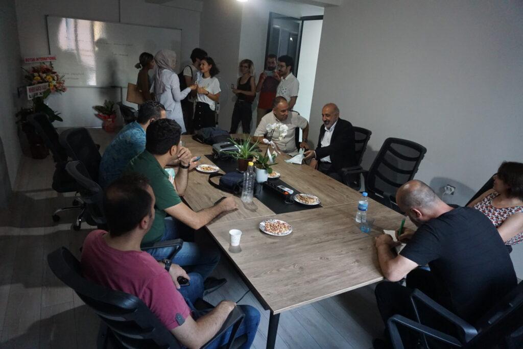 The first Kurdish media training office opened